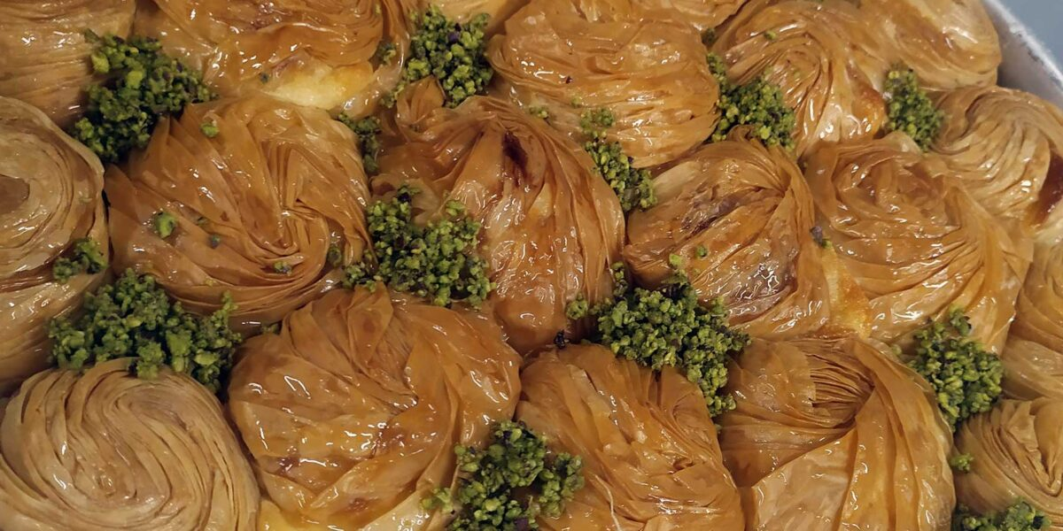 Σεμινάριο σιροπιαστών από τον pastry chef Ν. Χατσαρίδη